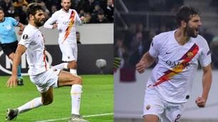 Roma, Fazio protagonista con il Monchengladbach: autorete e gol