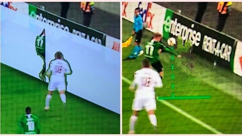 Roma, irregolare il primo gol del Borussia. I tifosi: