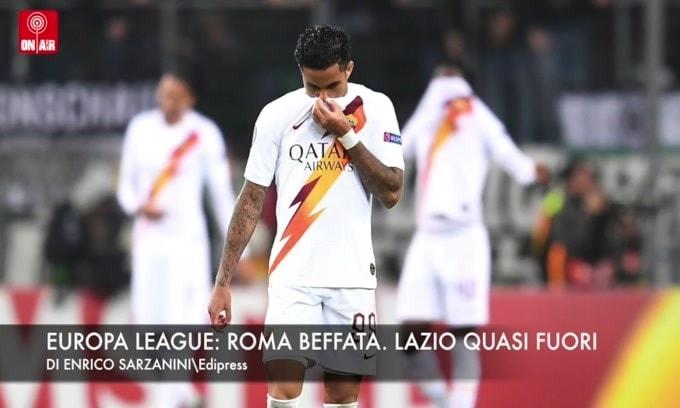 Europa League: Roma beffata. Lazio, quasi fuori