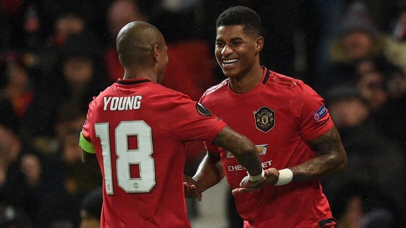Il Cluj stende il Rennes, vince anche il Basaksehir. Manita Siviglia, tris Manchester United