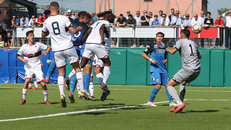 Genoa, frattura al perone per il capitano della Primavera Bianchi