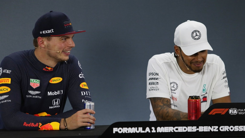 Hamilton-Verstappen, è tregua: