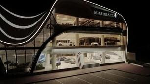 Maserati, le foto dello showroom di Dubai