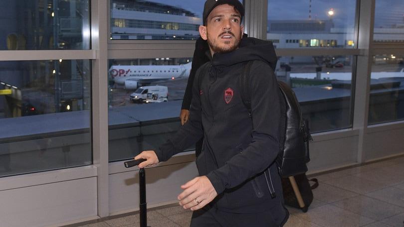 La Roma è arrivata a Parma. C'è Spinazzola, dubbio Florenzi