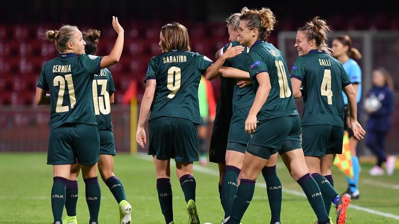 Italia da sogno, sei gol alla Georgia e prodezza di Sabatino