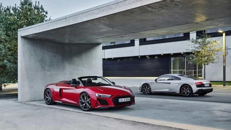 Audi R8, due nuove versioni nel 2020 per la supersportiva