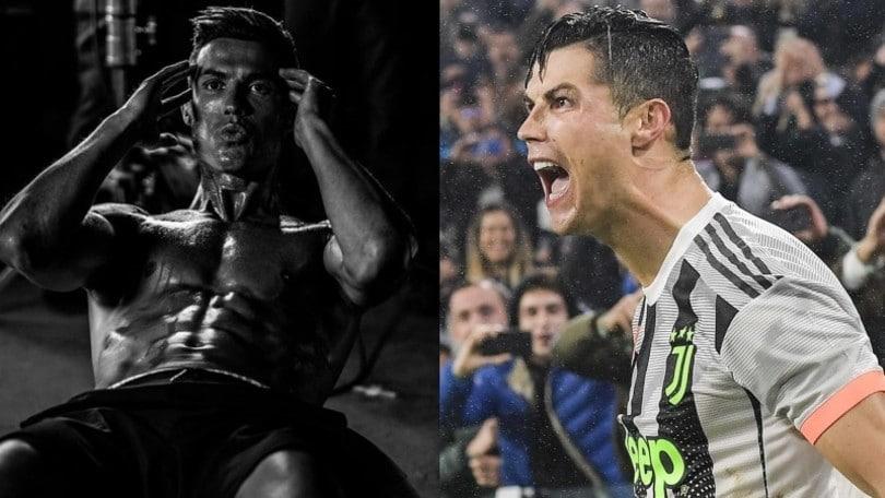 Juve, Cristiano Ronaldo mostra i muscoli: contro il Milan ci sarà