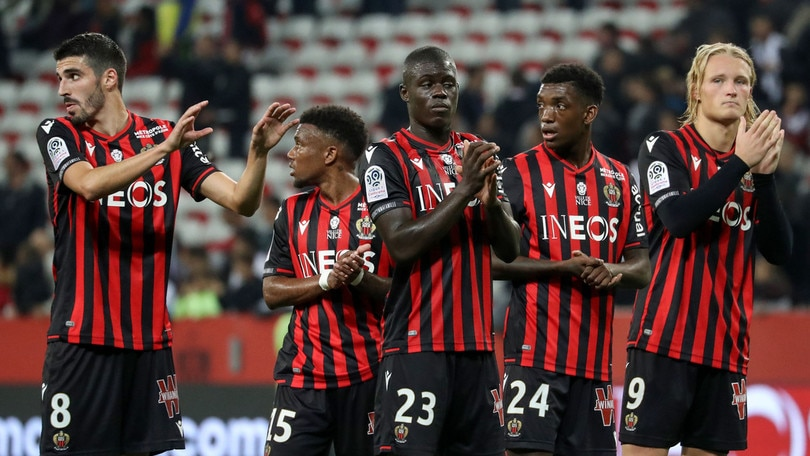 Ligue 1, Ounas non brilla. Nizza-Bordeaux termina 1-1