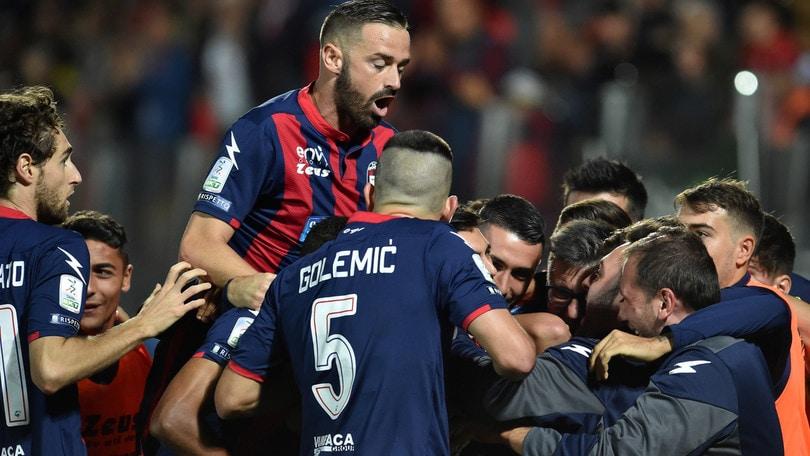 Il Crotone torna a vincere: 3-1 all'Ascoli