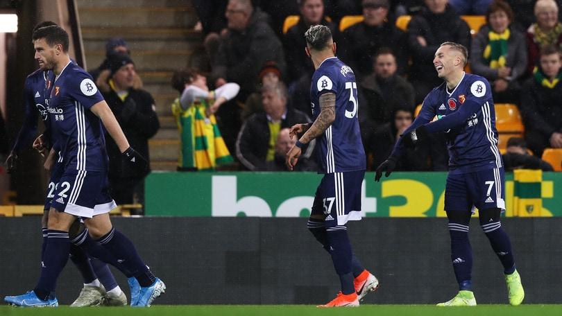 Deulofeu, gol e assist nel 2-0 al Norwich: il Watford non è più ultimo