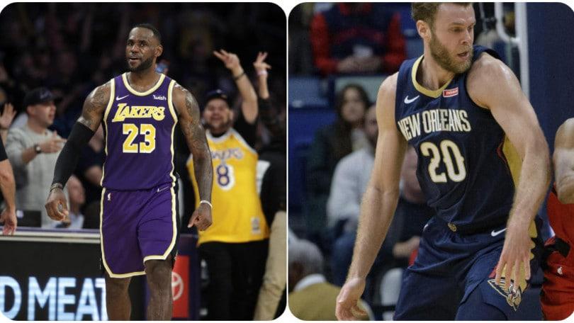 Nba, i Lakers stendono Miami. Ancora sconfitta per i Pelicans di Melli