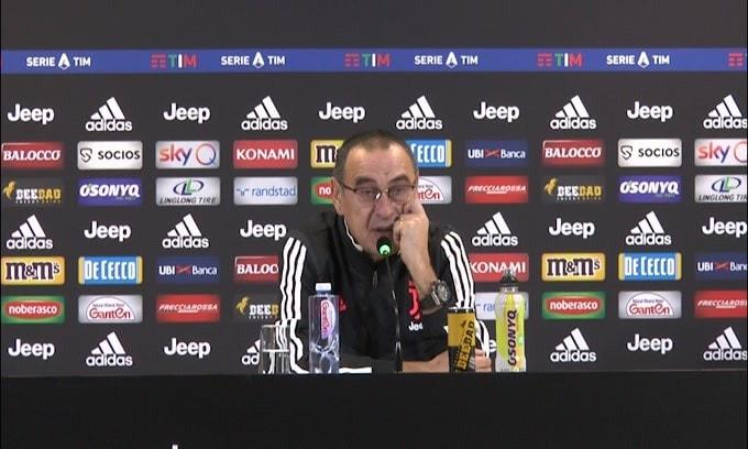 """Sarri: """"Eccessivo dire che l'Inter ha problemi"""""""