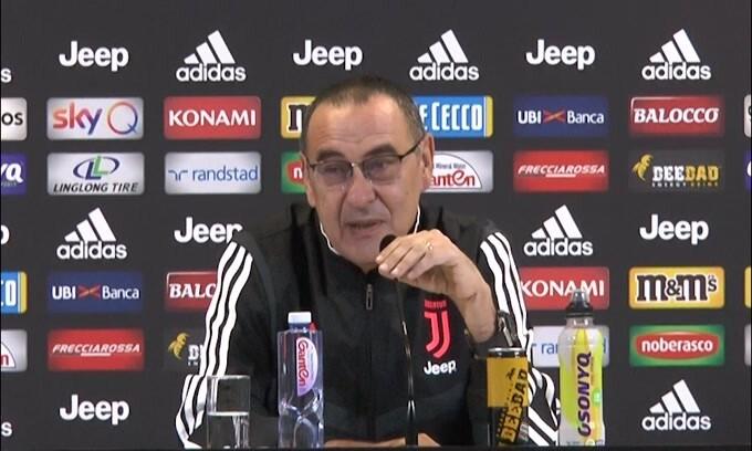 """Sarri: """"La squadra ha bisogno di Bonucci"""""""