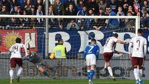 Super Torino: 4-0 a Brescia. Festa di colori al Rigamonti, Balotelli a testa bassa