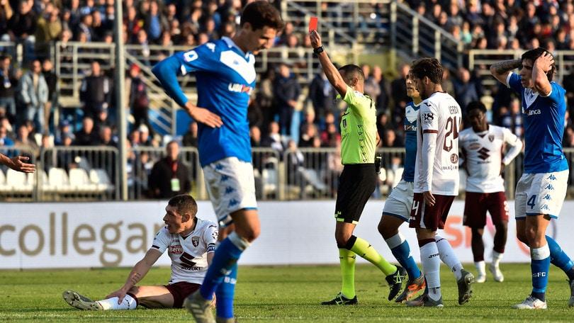 Serie A, sono 13 i giocatori squalificati dal giudice sportivo