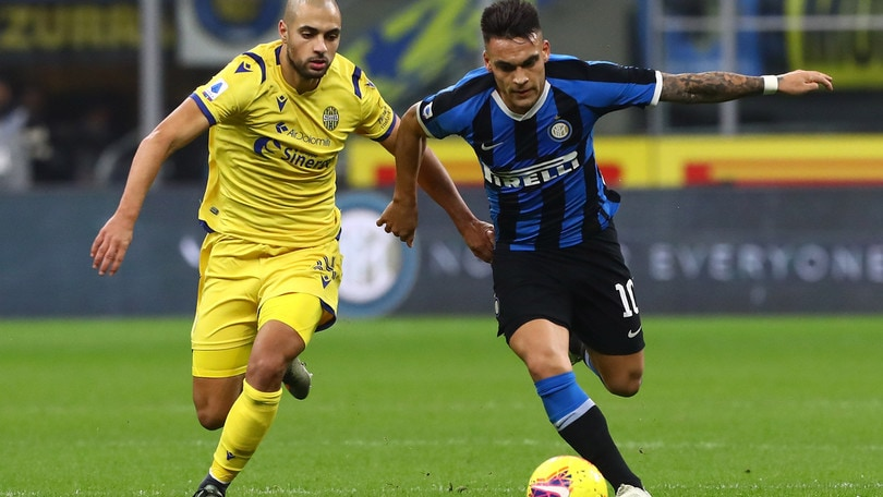 Inter-Verona 2-1, il tabellino