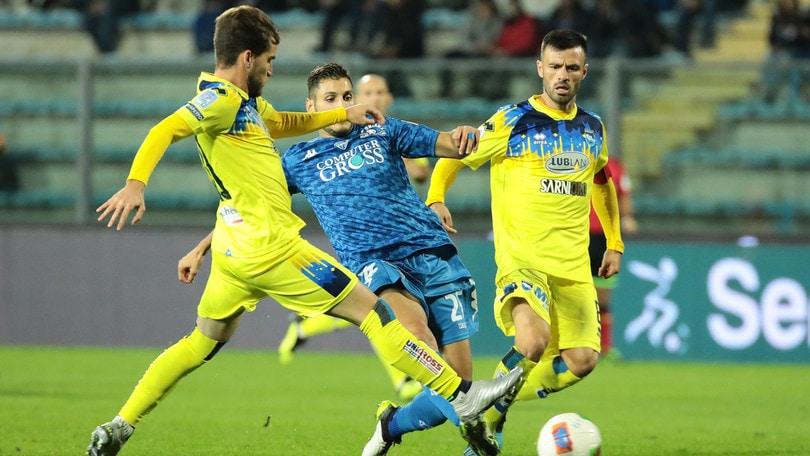 Il Pescara passa a Empoli con Bettella e Galano: 2-1, ora è quarto