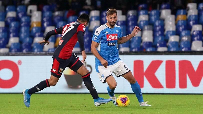 Napoli-Genoa 0-0, il tabellino