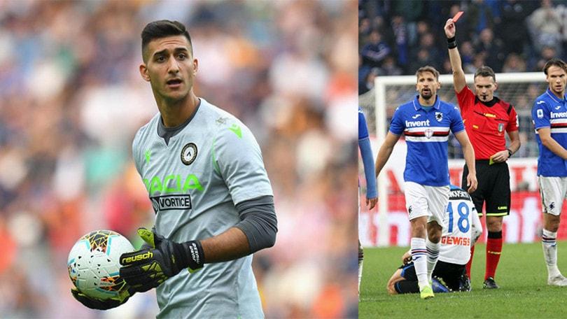 Serie A: Ranieri ferma l'Atalanta, Musso salva l'Udinese