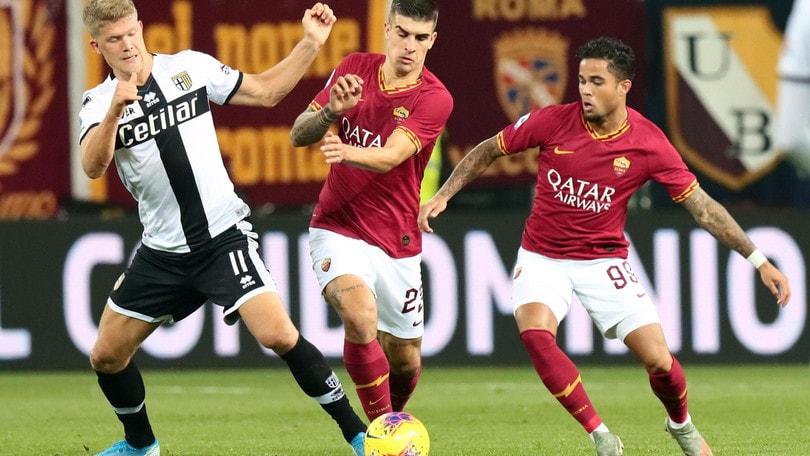 Parma-Roma 2-0, il tabellino