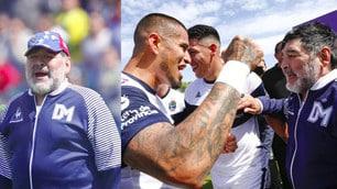 Maradona esulta, vittoria in trasferta per il Gimnasia La Plata