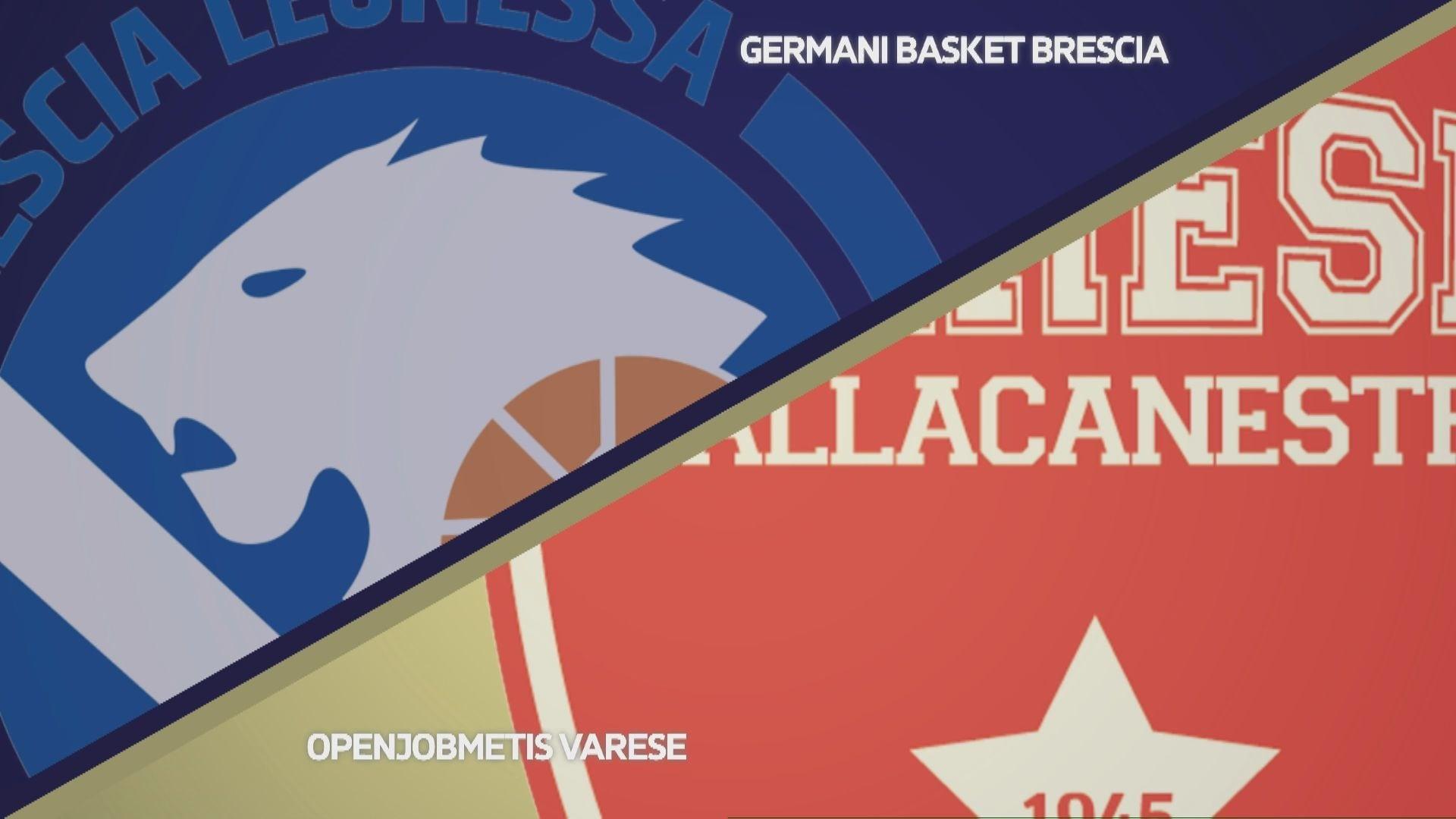 Germani Basket Brescia - Openjobmetis Varese 91-74