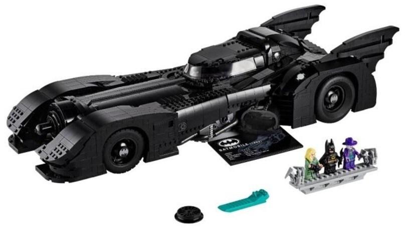 Batmobile 1989, in arrivo il set Lego per la riproduzione