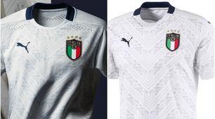 Italia, dal verde al bianco... Ecco la nuova maglia da trasferta
