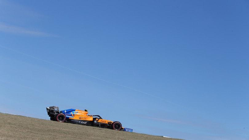 F1, Sainz e Norris testano le gomme da 18