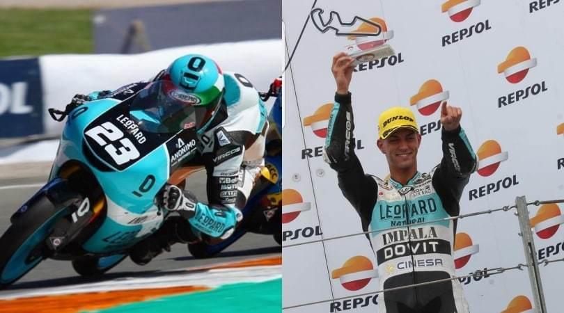 Pizzoli, è di Ostia il miglior italiano della Moto 3 Junior