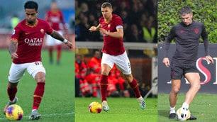 Roma, 10 giocatori con le nazionali