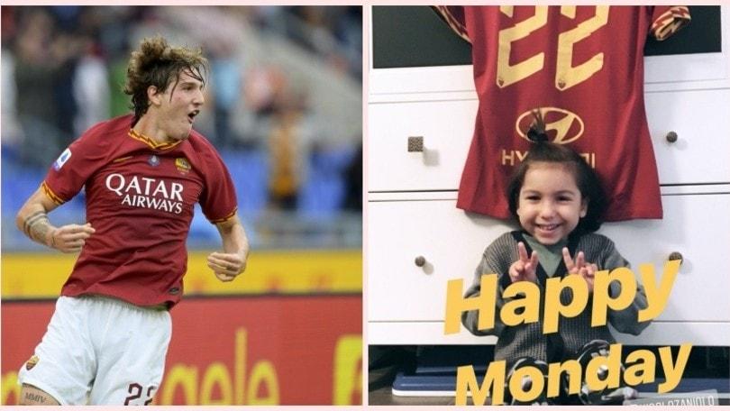 Zaniolo come Totti: campione di solidarietà con il piccolo Tommy
