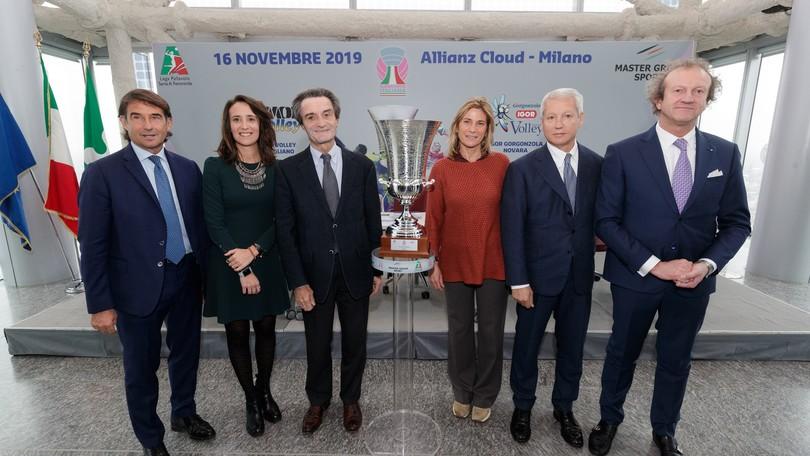 Presentata a Milano la Supercoppa Femminile