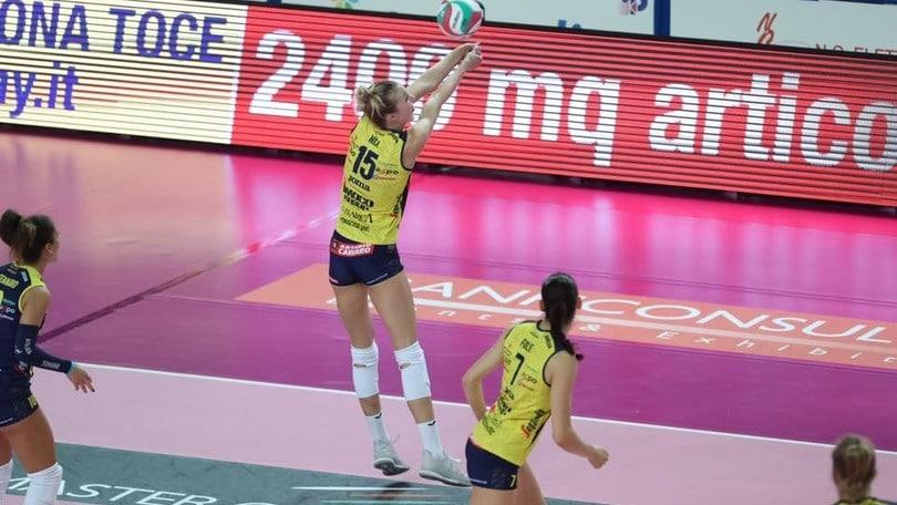 A1 Femminile, domani Conegliano e Novara anticipano i match della 7a