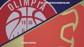 A|X Armani Exchange Milano - Oriora Pistoia 83-63