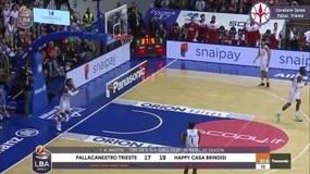 La Top5 della 8a Giornata del Campionato di Basket LBA Serie A