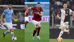 Da Luis Alberto a Dzeko: ecco gli stakanovisti della Serie A