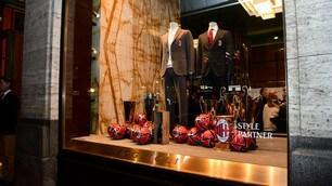 Boglioli festeggia la style partnership con il Milan