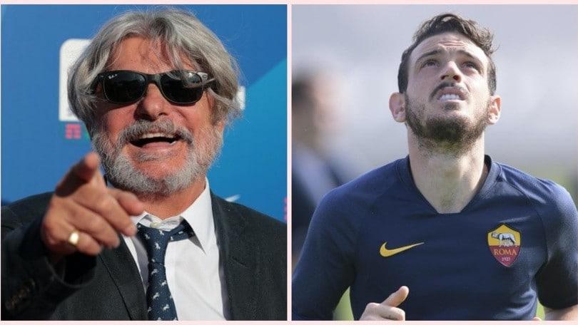 """Sampdoria, Ferrero chiama Florenzi: """"Mi piacerebbe prenderlo, magari!"""""""