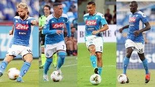 Napoli, da Koulibaly a Mertens: ecco le scadenze di contratto degli azzurri