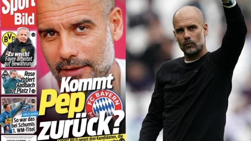 """""""Clamoroso Guardiola, il Bayern pensa al suo ritorno"""""""