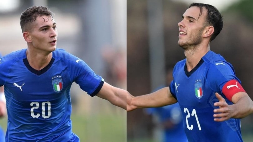 Inter e Roma si godono Esposito e Riccardi: entrambi in gol con l'Italia U19