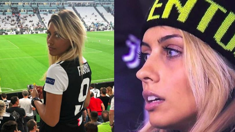 Inquadrata a Juventus-Milan, la tifosa diventa una star sui social network