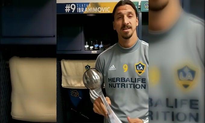 Ibrahimovic saluta la MLS