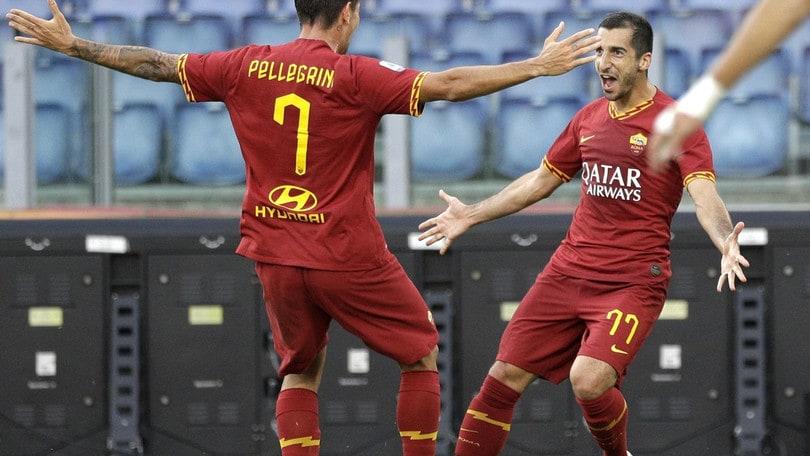Riecco Pellegrini e Mkhitaryan: saranno pronti per Roma-Brescia