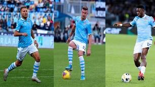 Lazio, 8 giocatori con le Nazionali