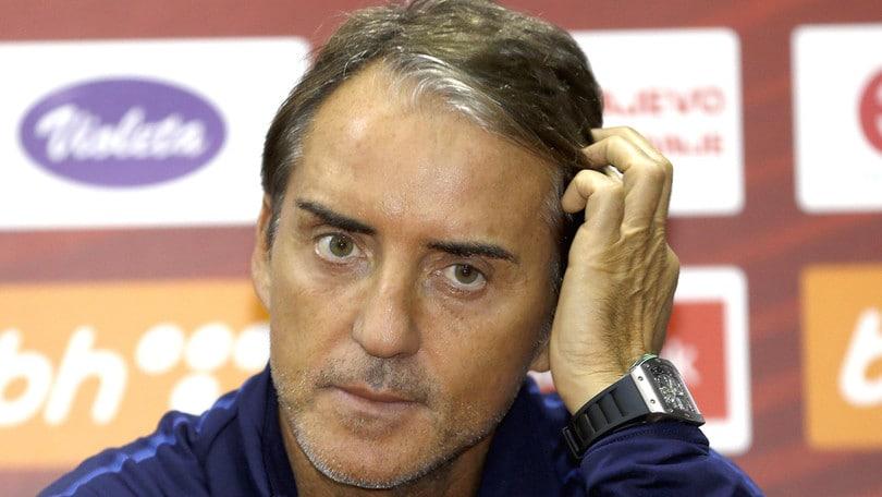 Mancini pronto a sfidare la Bosnia: