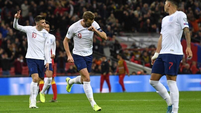 Euro 2020: Inghilterra a valanga, qualificata con Francia, Repubblica Ceca e Turchia
