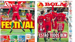 La stampa portoghese esalta Ronaldo dopo la tripletta