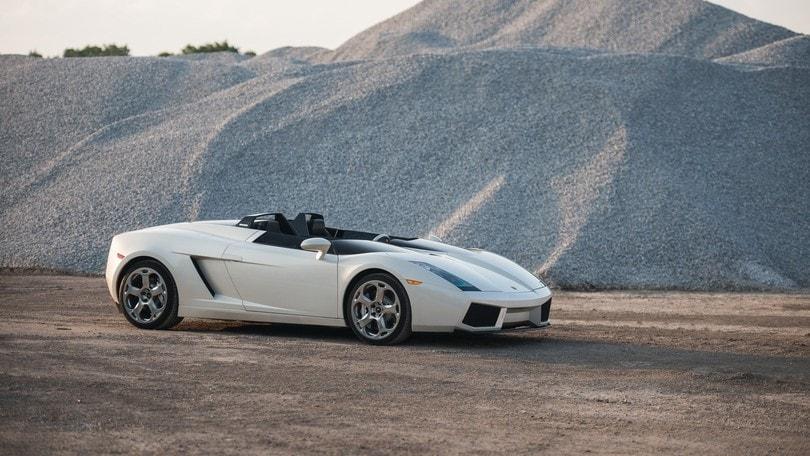 Lamborghini Concept S, la cabriolet va all'asta